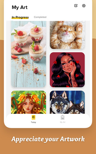 Colorscapes Plus - Color by Number, Coloring Games 2.2.0 screenshots 14