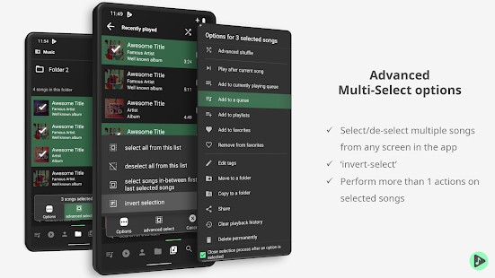 Musicolet Music Player 5.1.1 build282 Screenshots 4