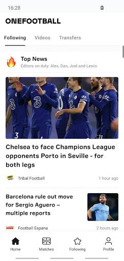 OneFootball - Soccer News, Scores & Stats  APK screenshots 1