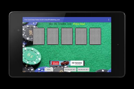 Five Card Draw Poker 1.20 screenshots 17