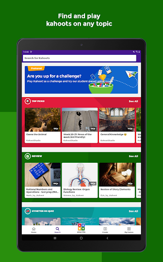 Kahoot! Play & Create Quizzes 4.3.6 Screenshots 18