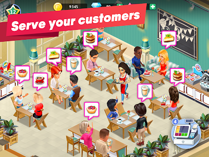 My Cafe — Restaurant game Mod Apk (Unlimited Money/Crystals/VIP 7) 9