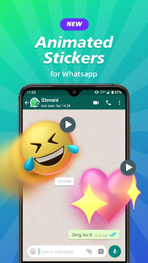 Animated Sticker Maker for WA WAStickerApps 2.2.7 Screenshots 1