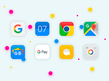 iOS 11 Style  Icon Pack Screenshot