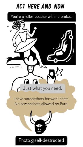 PURE Hookup - anonymous dating apktram screenshots 5