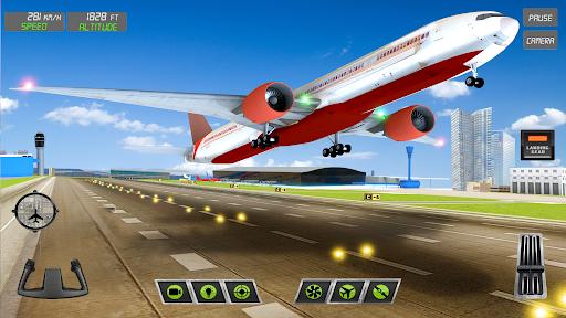 Extreme Airplane simulator 2019 Pilot Flight games screenshots 1