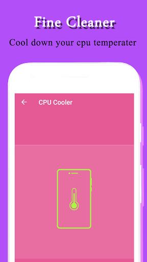 Fine Cleaner & CPU - Cooler & Bass Booster Apkfinish screenshots 3