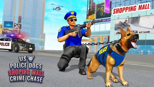 US Police Dog Shopping Mall Crime Chase 2021 2.1 screenshots 2