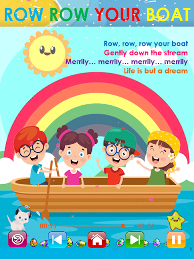 Kids Songs - Offline Nursery Rhymes & Baby Songs apkslow screenshots 14