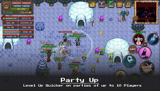 MMORPG Laurum Online - RPG - Pixel MMO - PVP 1.5-hf1 screenshots 8