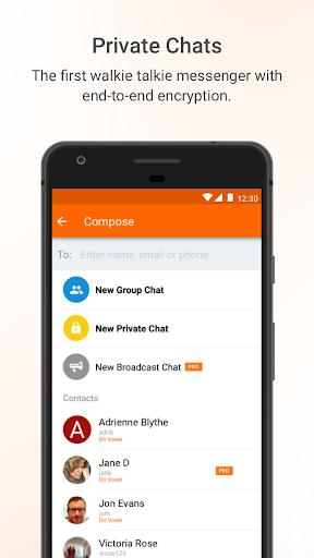 Voxer Walkie Talkie Messenger 3.18.20.21541 screenshots 2