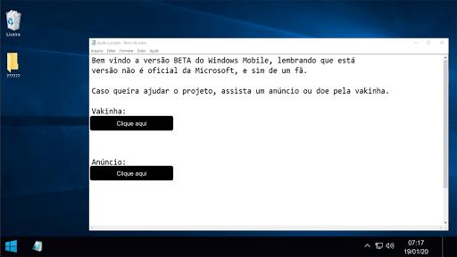 Win10: Simulator 0.05c screenshots 1