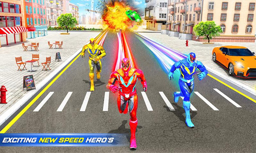 Grand Police Robot Speed Hero City Cop Robot Games 24 screenshots 2