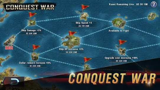 WARSHIP BATTLE 3D World War II Mod (Money) 5