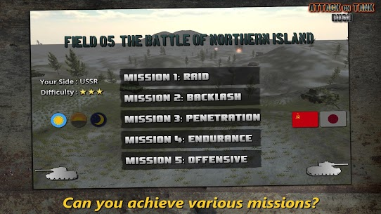 Attack on Tank: Rush v3.5.1 MOD (Money/Gold) APK 4