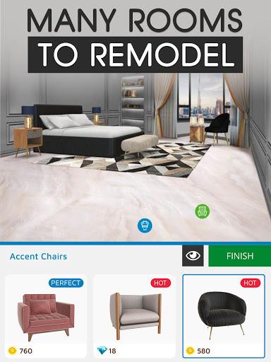 Home Makeover: Decorating Games & House Design Apkfinish screenshots 12