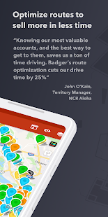 Badger Map - Route Planner for Sales Screenshot