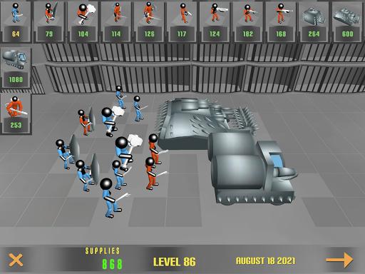 Stickman Prison Battle Simulator: Zombies screenshots 13