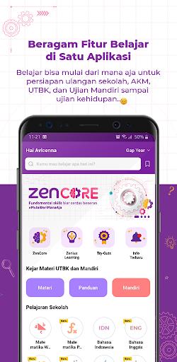 Zenius - Belajar Online Seru | UTBK, UM, PTS, PAS  screenshots 1