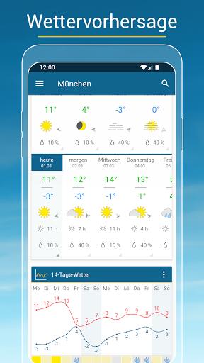RegenRadar - mit Unwetterwarnung apktram screenshots 4