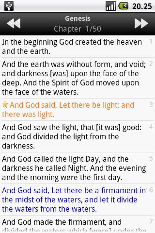 Holy Bible (KJV) 1.5 Screenshots 3
