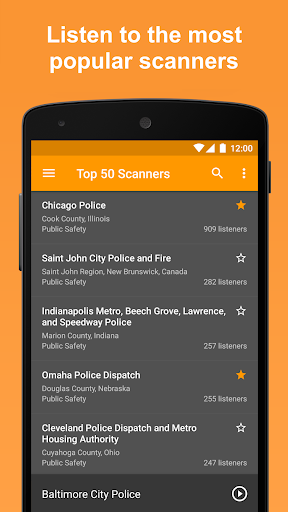 Scanner Radio - Fire and Police Scanner modavailable screenshots 3