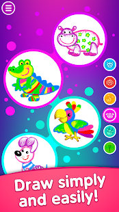 Toddler coloring apps for kids! Drawing games!
