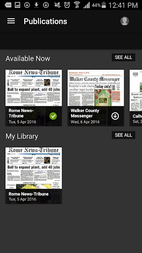 Rome News-Tribune 4.7.16.0331 Screenshots 13