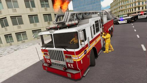Fire Truck Driving Simulator 1.34 Screenshots 6