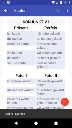 Deutsche Verben screenshots 3