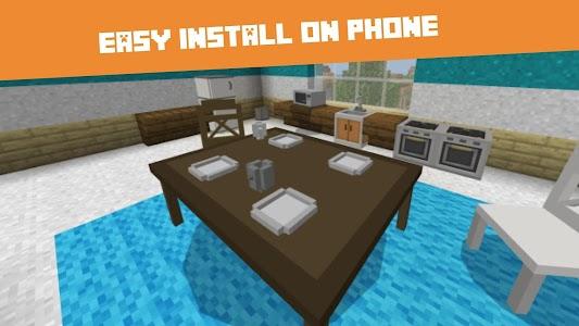 Furniture MOD for Minecraft PE 1.0.32