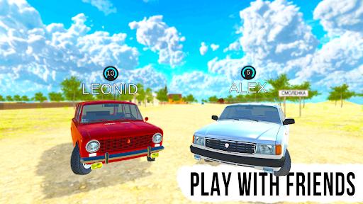 Driving Simulator: Russian Village & Online apktreat screenshots 2