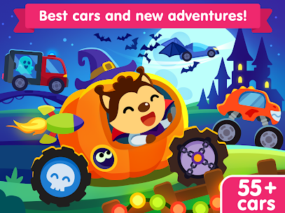 Free Car game for toddlers: kids cars racing games 5