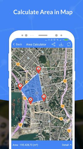 GPS, Maps, Navigate, Traffic & Area Calculating  Screenshots 5