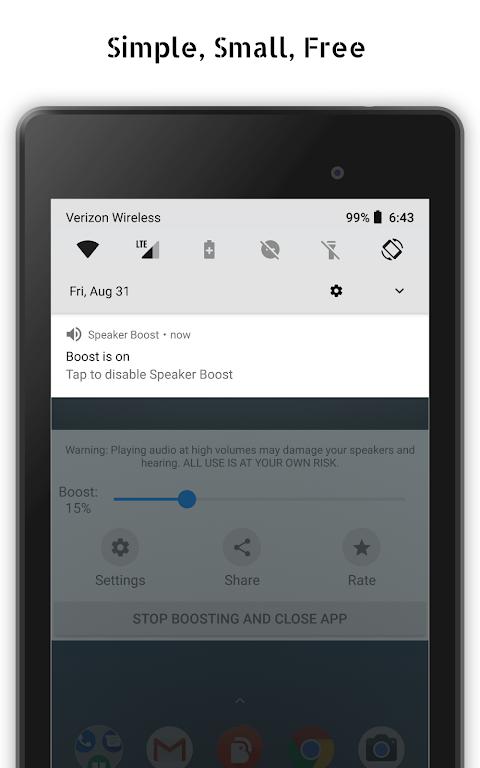 Speaker Boost: Volume Booster & Sound Amplifier 3D  poster 11