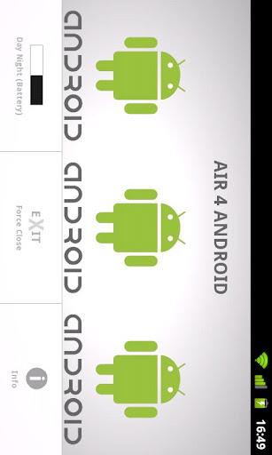Air 4 Android 1.1 Developer Screenshots 4