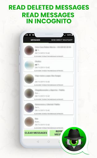 Anti Spy Agent for WhatsApp - Incognito mode apktram screenshots 2