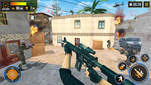 Gun Shooting Games: fps shooting commando strike  screenshots 1