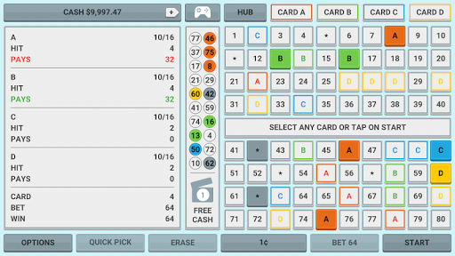 Colorful Keno: Las Vegas Casino Keno 4 Card Keno 1.7 screenshots 7