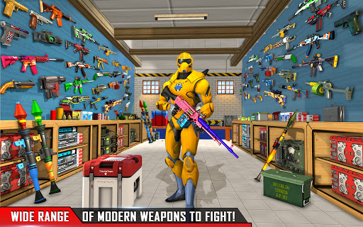 Fps Robot Shooting Strike: Counter Terrorist Games  screenshots 6