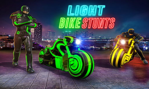 Light Bike Stunt Racing Game 18 Screenshots 4