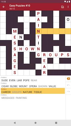 Fill-In Crosswords 3.07 screenshots 19