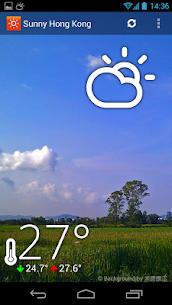 HK Sunny Pro Apk- Weather&Clock Widget (Paid Features Unlocked) 1
