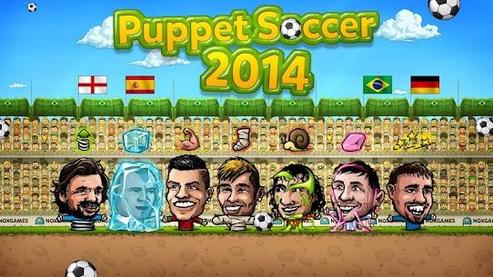 Puppet Soccer 2014 – Big Head Football Mod Apk 3.0.4 (Unlimited Money) 4