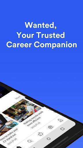 Wanted: Jobs & Career apktram screenshots 2