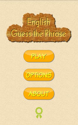 English Guess The Phrase  screenshots 1