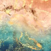 COGUL HD/4K Wallpaper - Light Pink Aqua Marble