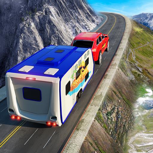 permainan memandu kemping simulator memandu kereta