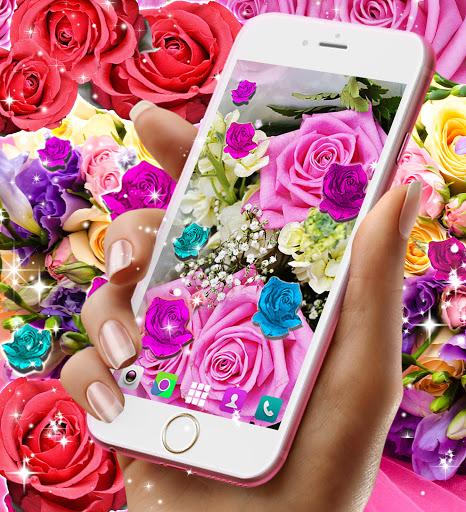 Best rose live wallpaper 2021 apktram screenshots 21