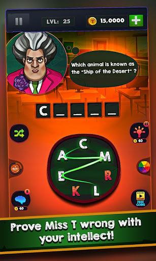 Scary Teacher : Addictive Word Game 2.1 Screenshots 3